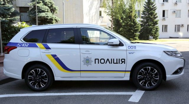 Украинские полицейские пересядут на Mitsubishi 4