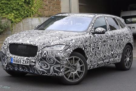 Папарацци поймали в кадр новый Jaguar 1