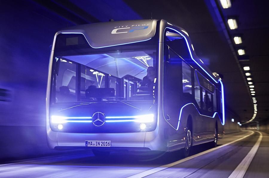 На улицы казахского города выйдут беспилотные автобусы 1