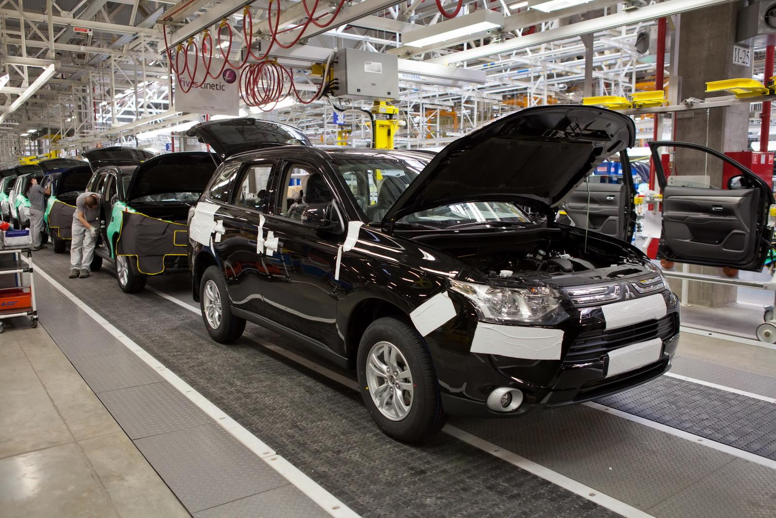 В Украине построят 2 автозавода Mitsubishi 1