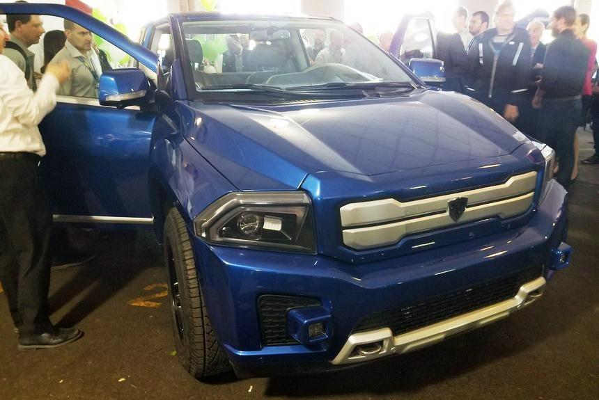 Новый бюджетный электрический пикап Bison «стал конкурентом Tesla» 1