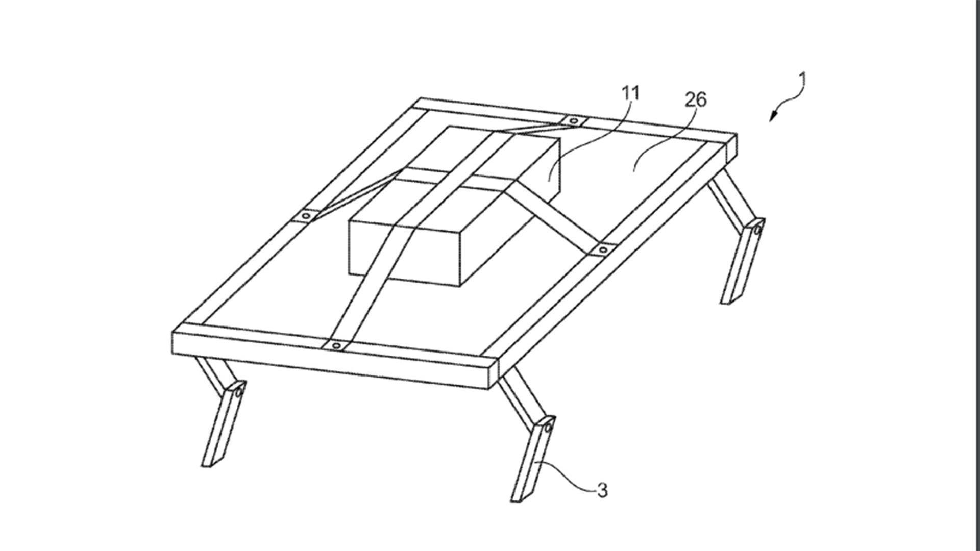 Ford запатентовал автомобильные сиденья с «ногами» 2