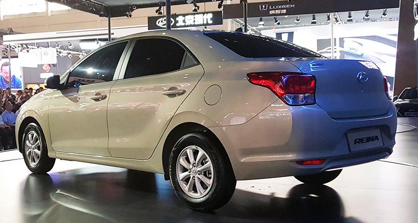 Компания Hyundai показала «супербюджетный» седан 1