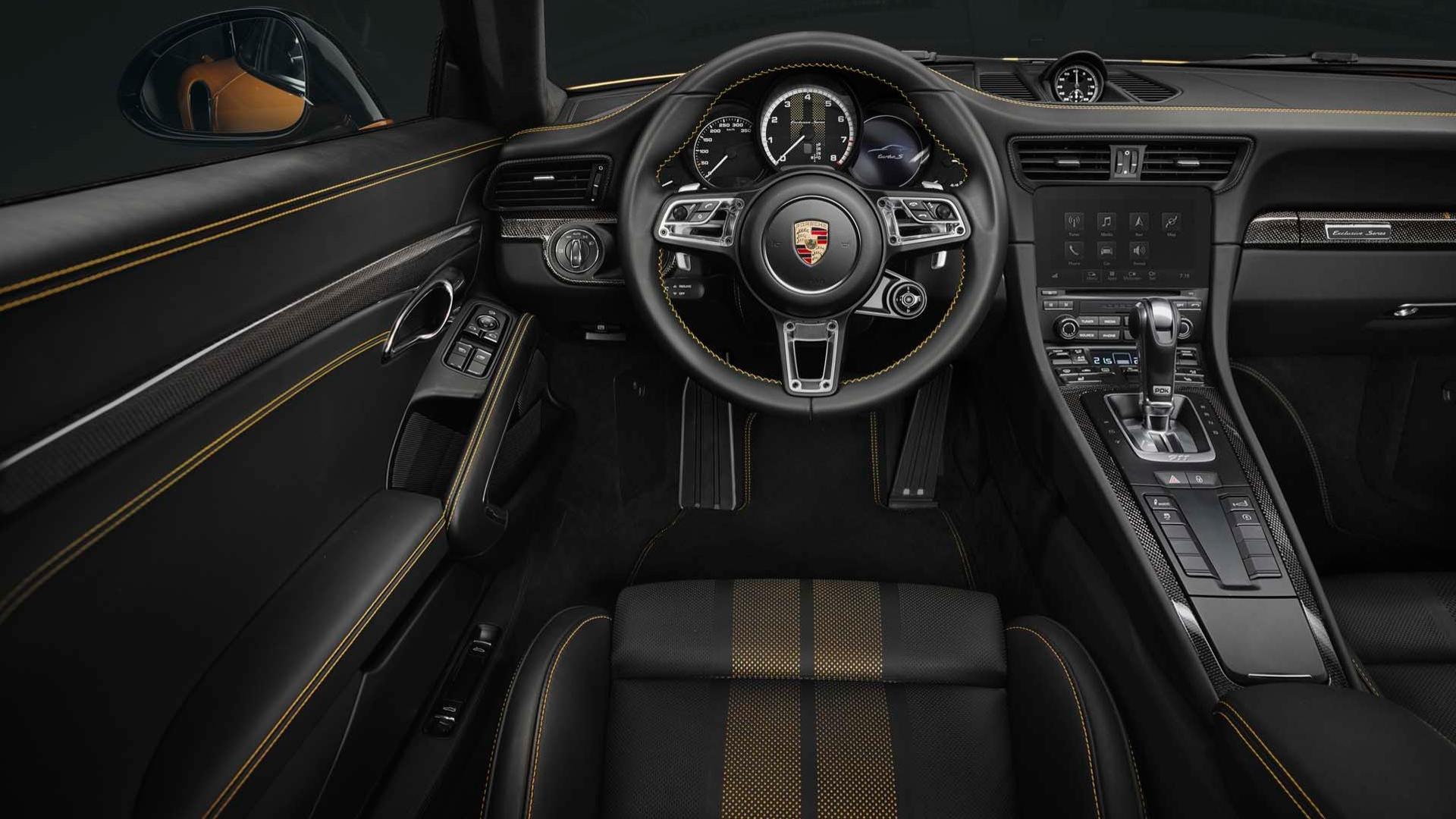 Porsche показала самую мощную версию 911 Turbo S 2