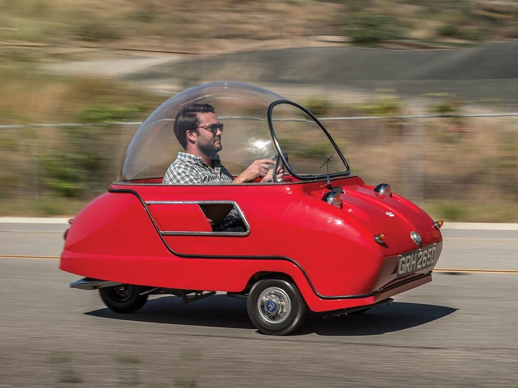 «Купи блоху»: на аукцион выставили самый маленький автомобиль в мире 1