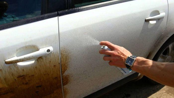 Как удалить брызги битума с кузова автомобиля 2