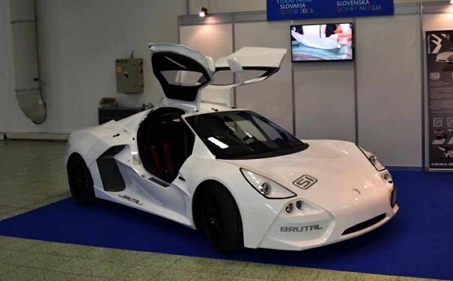 Словаки построили «брутальный» спорткар 1