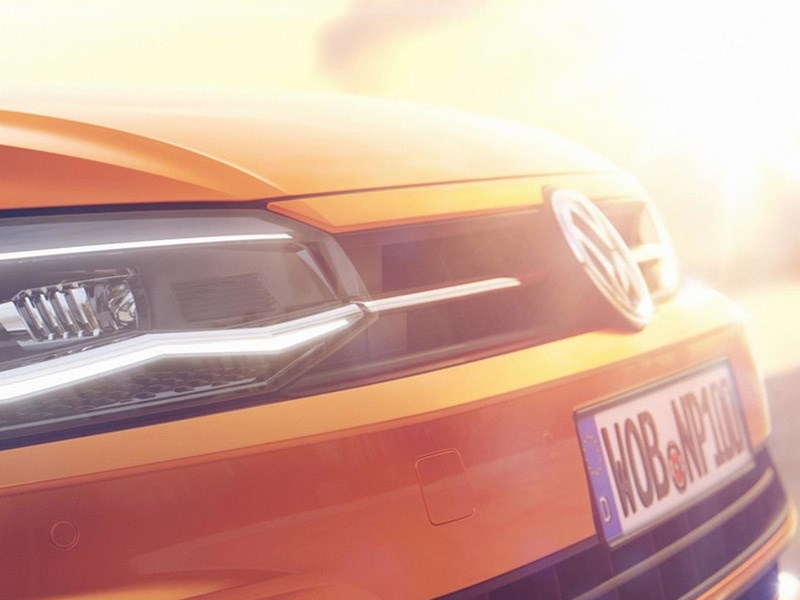 Разработчики VW «показали кусочек» нового Polo 1