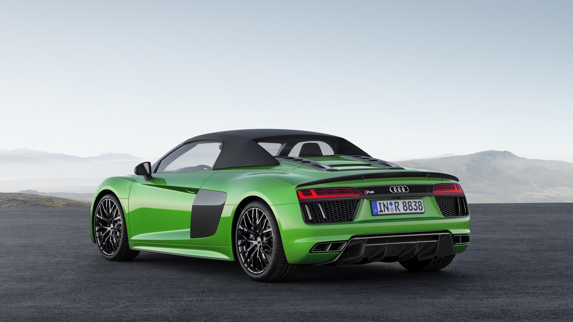 Audi показала родстер, который обгонит Lamborghini 2