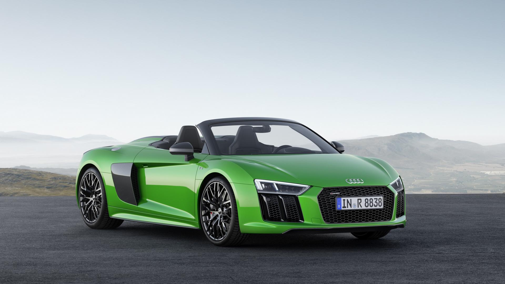 Audi показала родстер, который обгонит Lamborghini 1