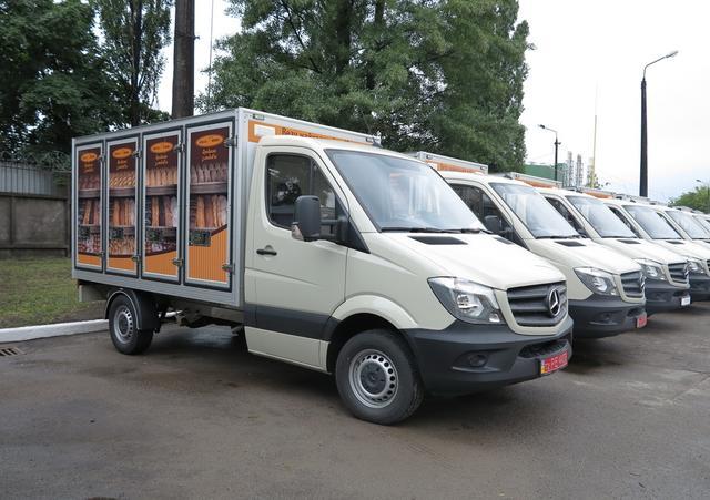 Хлеб по столице будут развозить на Mercedes-Benz Sprinter 1