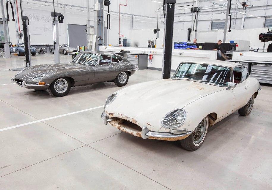 Jaguar Land Rover открыл центр классических автомобилей 1