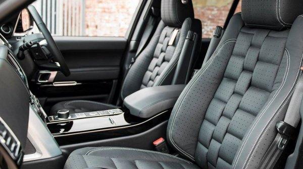 На аукцион выставили уникальный Range Rover 2