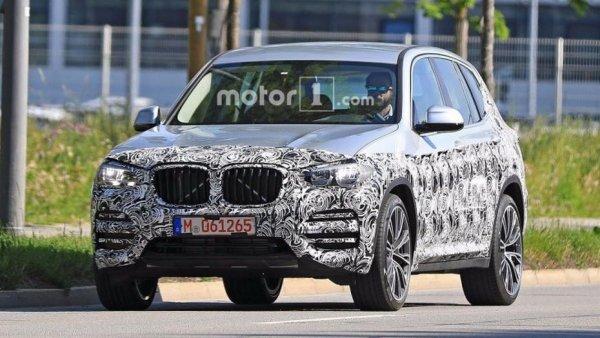 Новый BMW X3 будет готов уже к осени 1