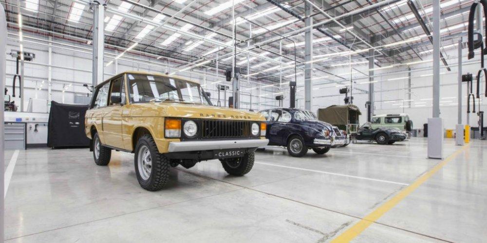 Марка Jaguar Land Rover показала самый большой в мире парк-гараж 1