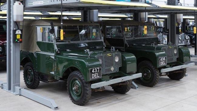 Марка Jaguar Land Rover показала самый большой в мире парк-гараж 2
