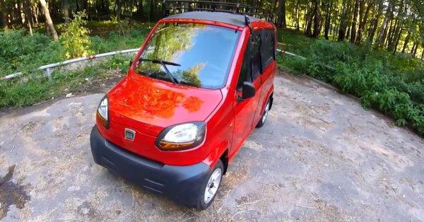 Bajaj Qute признали самым бюджетным электромобилем в мире 1