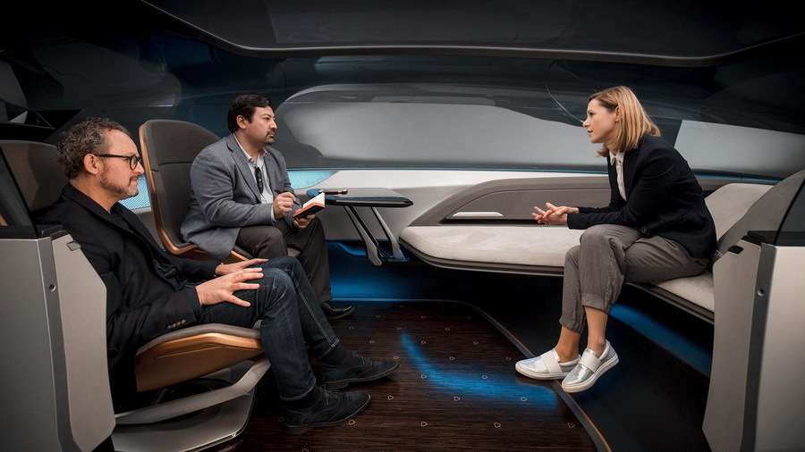 Audi начала работу над автомобилем, который выйдет в 2050 году 1