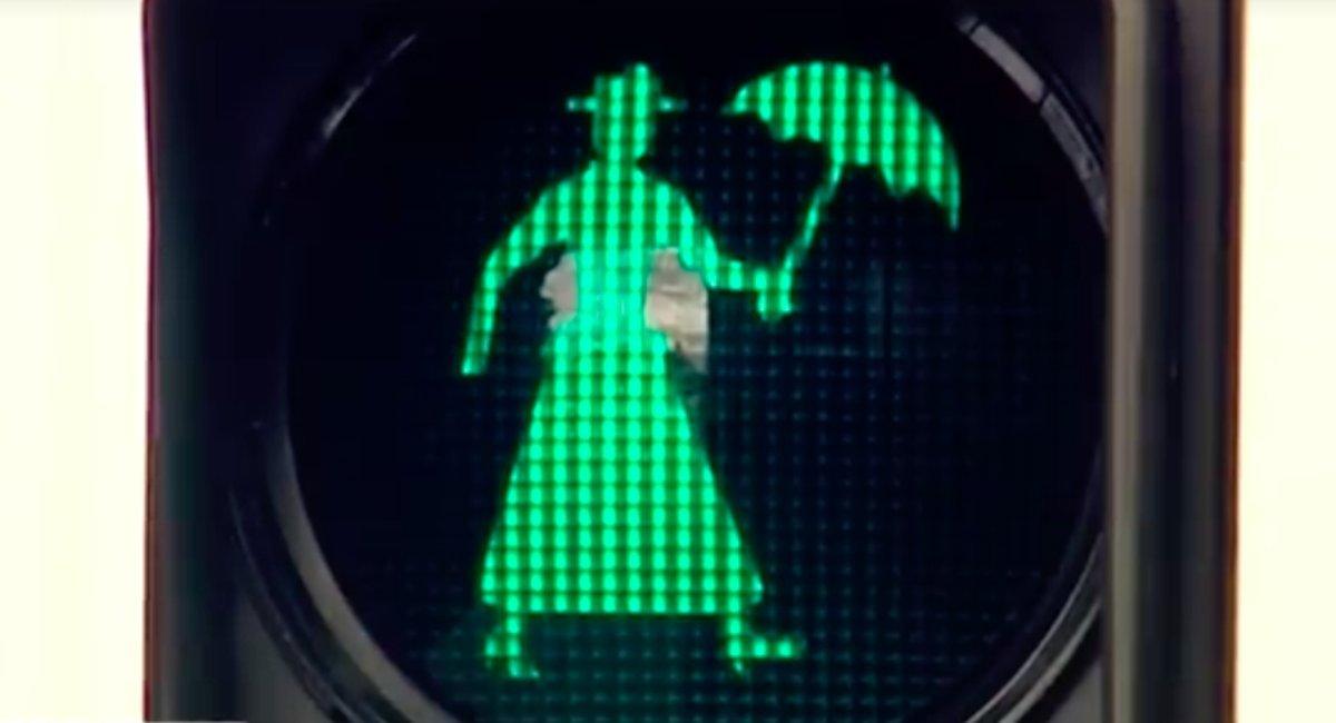 В Австралии появился светофор «Мэри Поппинс» 2