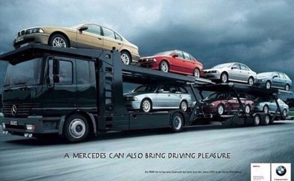 «Самые смешные подколки в автомобильной рекламе» 5