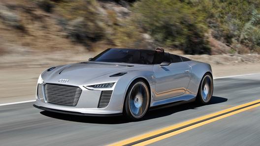 В Audi готовы показать новый электромобиль 1