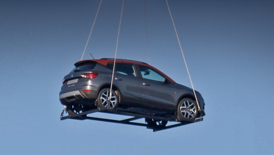 В небе над Испанией заметили новый кроссовер Seat Arona 1
