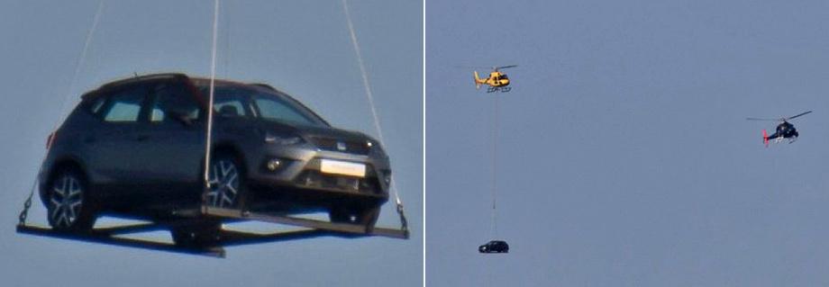 В небе над Испанией заметили новый кроссовер Seat Arona 2