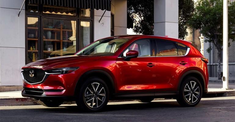Новый Mazda CX-5 получил сразу три модификации 1