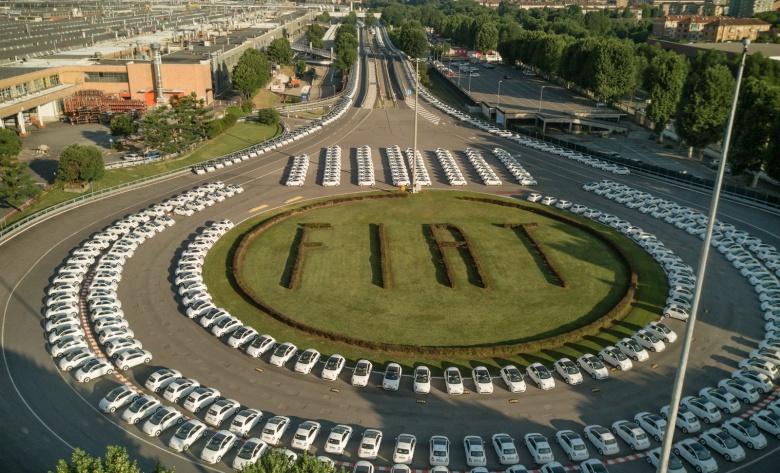 Супермаркет подарил своим клиентам 1500 новеньких Fiat 1