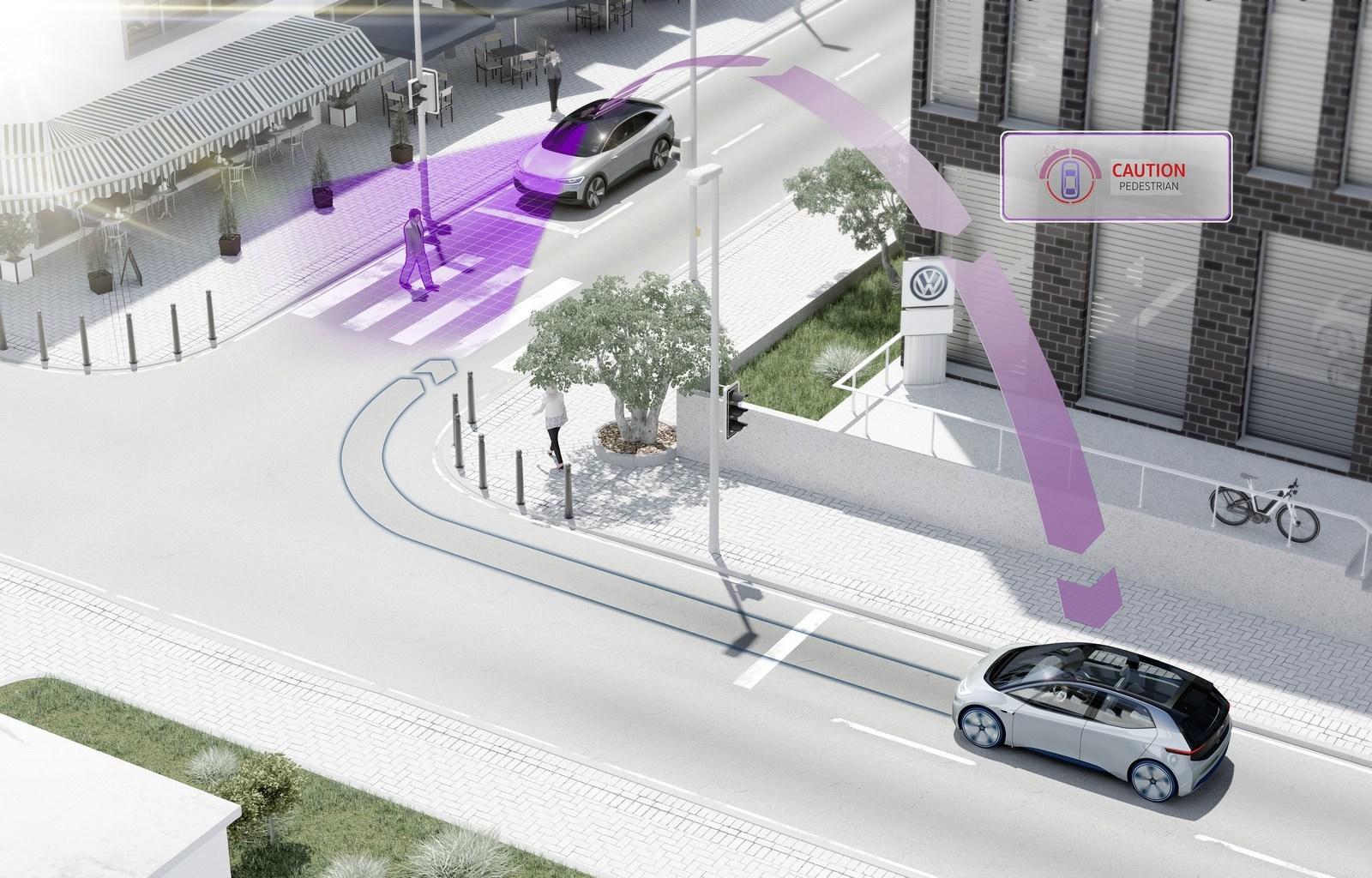 Автомобили Volkswagen «научатся» разговаривать друг с другом 1