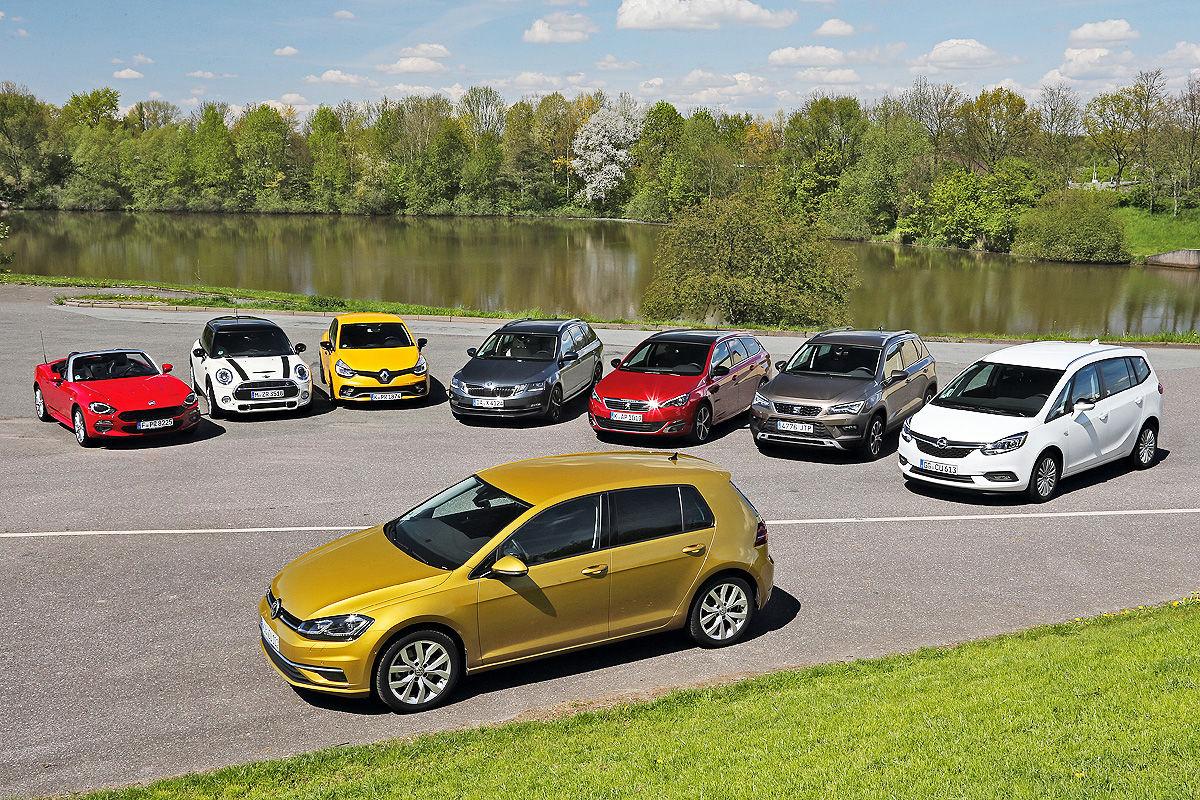 «Сильный конкурент в своем классе»: тест-драйв VW Golf 1
