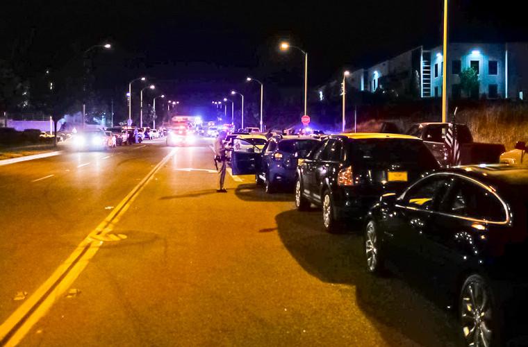 Полицейские задержали большую группу «ночных стритрейсеров» 1
