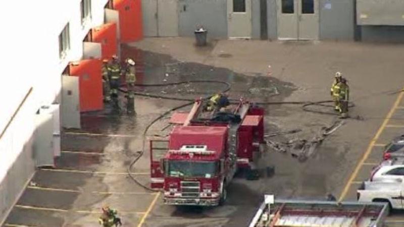 В Детройте взорвался завод General Motors 1