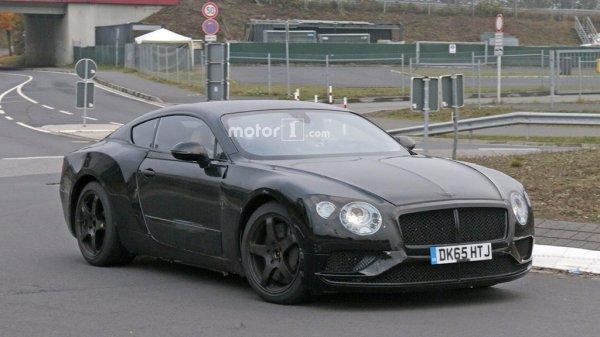 Стали известны новые данные о Bentley Continental 1