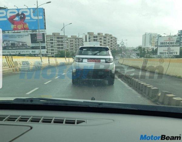 Индийский «клон» Land Rover Discovery замечен на тестах 2