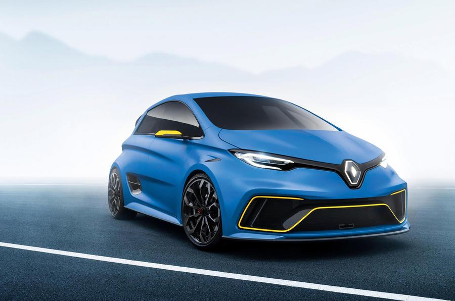 Renault «грозится» построить 460-сильный электромобиль 1