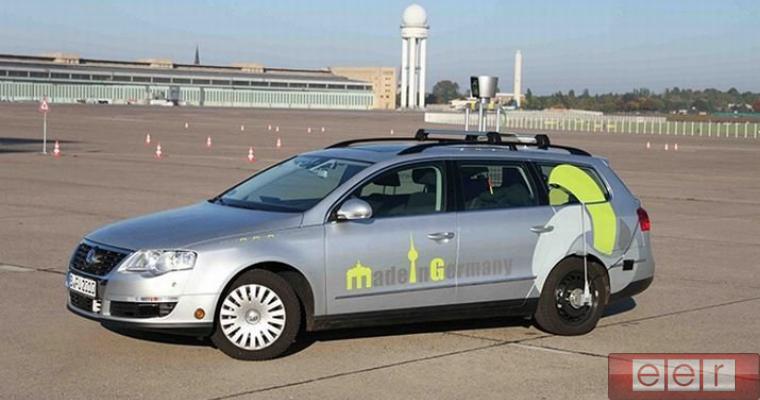 По улицам Германии будут ездить «такси-роботы» 2