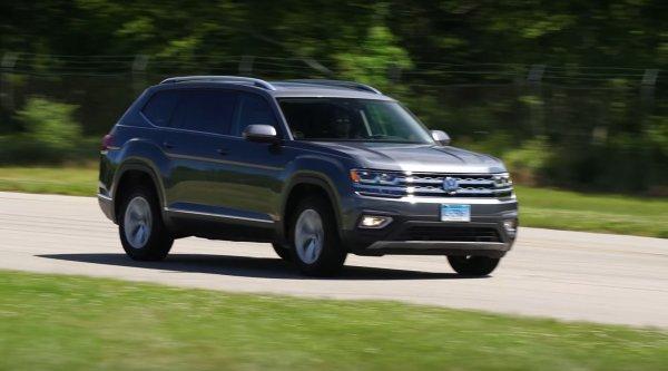 Американские водители остались недовольны новым Volkswagen Atlas 1
