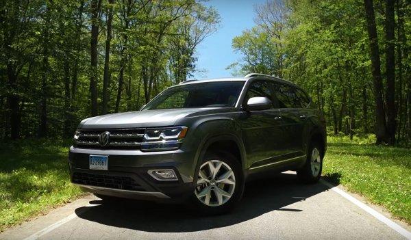 Американские водители остались недовольны новым Volkswagen Atlas 2