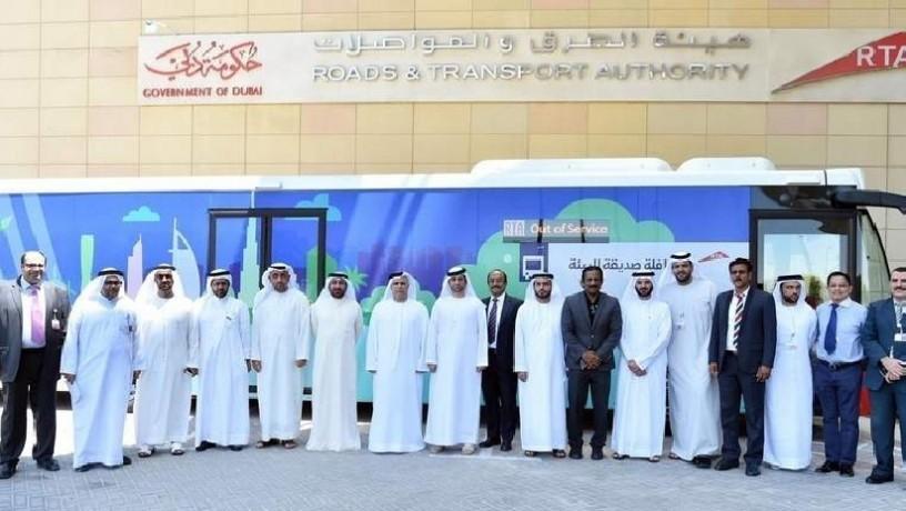«Экология прежде всего»: в ОАЭ презентовали эко-автобусы 1