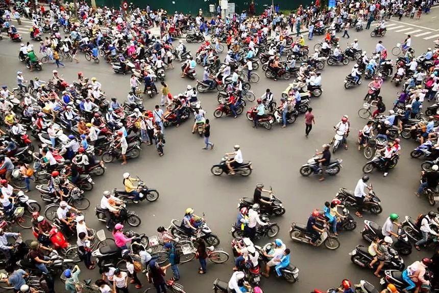 В столице Вьетнама хотят запретить мотоциклы 1