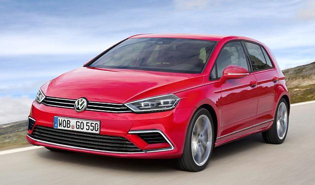 Первые подробности о новом Volkswagen Golf 1