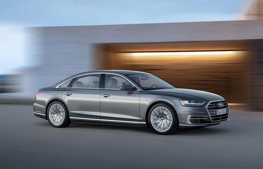 Новый флагман Audi уже успел покорить автошоу 2