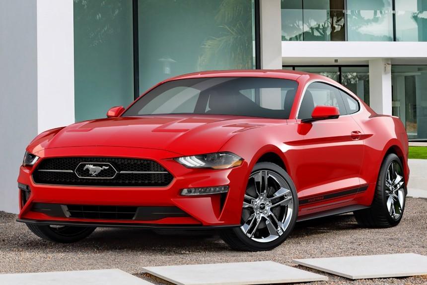 Ford Mustang «слегка обновили»: лишь вернули классическую эмблему 1