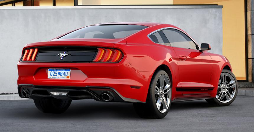 Ford Mustang «слегка обновили»: лишь вернули классическую эмблему 3