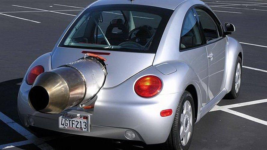 «Что это за зверь такой?»: Volkswagen «Жук» с реактивным мотором 1