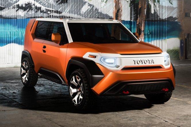 «Брутальный малыш»: Toyota показала новую модель FT-4X 1