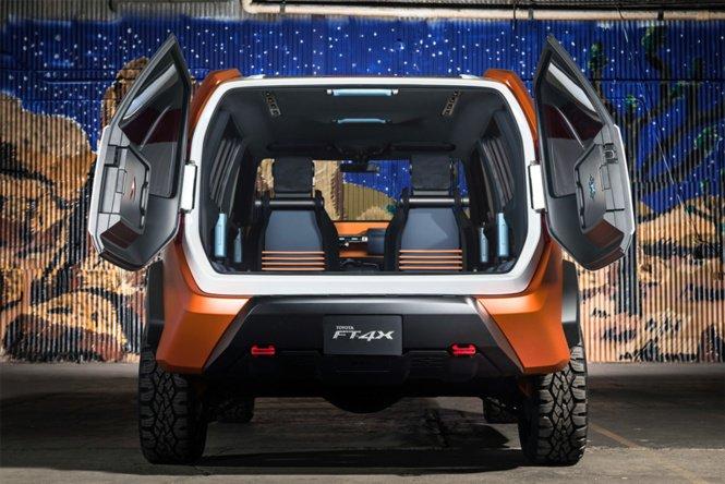 «Брутальный малыш»: Toyota показала новую модель FT-4X 3