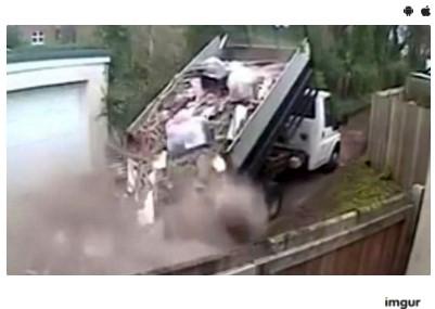 Суд решил уничтожить грузовики нарушителя, сбросившего мусор на дороге 1