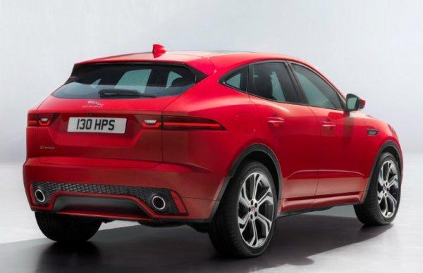 Jaguar E-Pace стал самой маленькой моделью марки 2